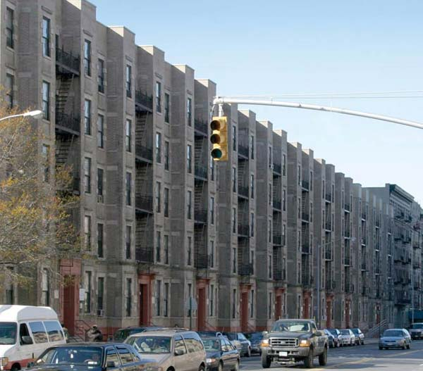 Affordable Housing Riverview I And Ii 602 622 West 135th Street New York Ny Between