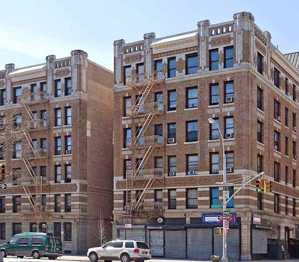 Clayton Apartments: Condominiums: The Strathmore, 1890 Adam Clayton Powell